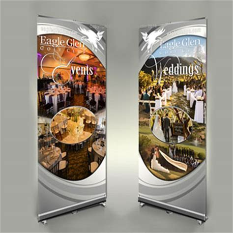table banners for trade shows trade displays retractable event