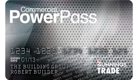 bunnings commercial powerpass