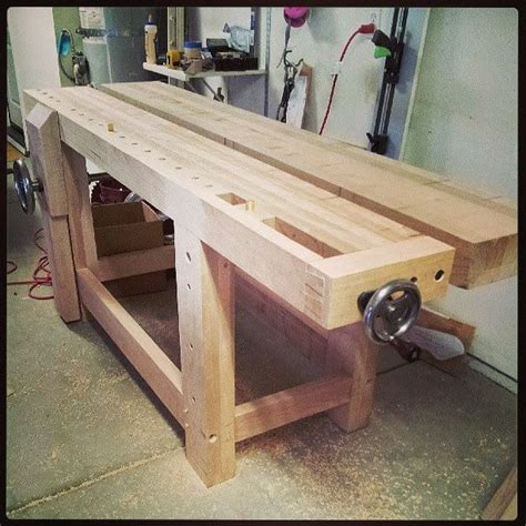 roubo work bench custom made split top roubo workbench by wise woodworking