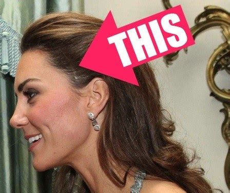 who wears a hair piece kate middleton doesn t have extensions that thing on her