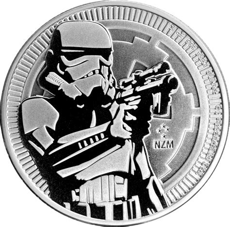 Coin Wars 2017 2018 wars 1oz silver stormtrooper coin 163 23 00