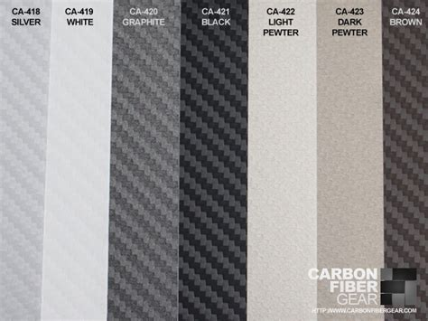 carbon color carbon fiber di noc vinyl now available in 7 different colors