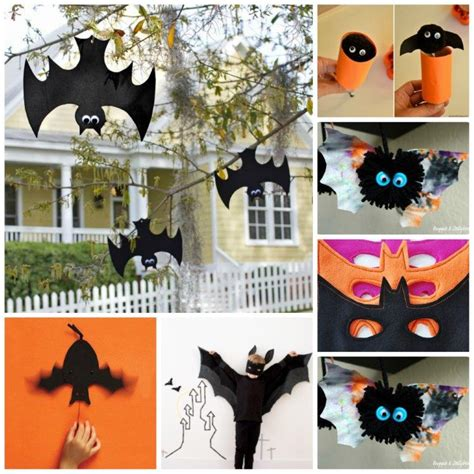 Halloween Arts N Crafts - 25 bat crafts for kids red ted art s blog
