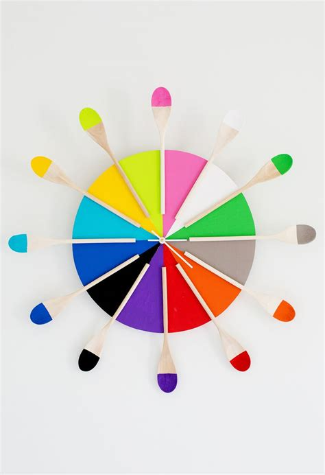 colorful clocks colorful kitchen clock diy a beautiful mess
