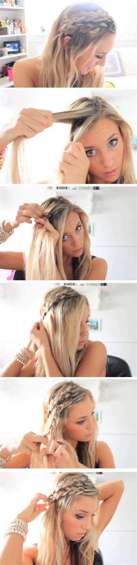 easy hairstyles at the beach 12 easy diy hairstyles for the beach