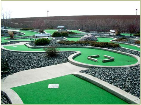 backyard miniature golf backyard mini golf course large and beautiful photos