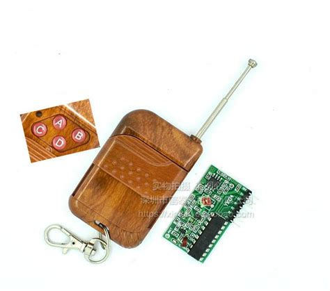 1 Set Wirelles Remote Kit Transmitter Receiver 1set ic 2262 2272 4 channel 315mhz key wireless remote kits receiver module for arduino