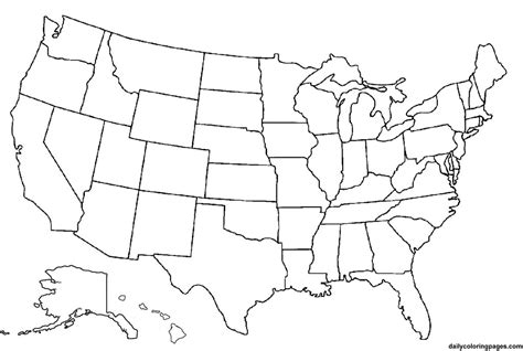 united states blank map america lineart map blank by agent505 on deviantart