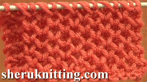 Knitting Stitch Patterns Tutorial 4 Honeycomb Knitting