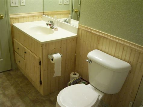 Bathroom Beadboard Installation How To Install Bathroom Beadboard