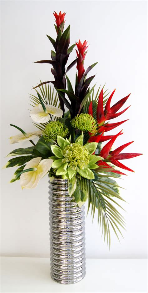 flower arrangements beautiful faux flower arrangements for your inspiration