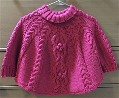 knitting temptations ravelry temptation poncho and hat set pattern by tatsiana