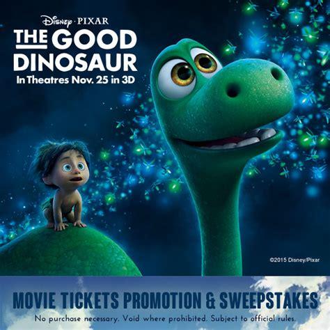 full film the good dinosaur win a prehistoric adventure with sun maid and the good
