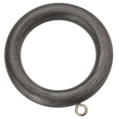 pewter curtain rings pack of 4 additional romantica 35mm pewter curtain rings