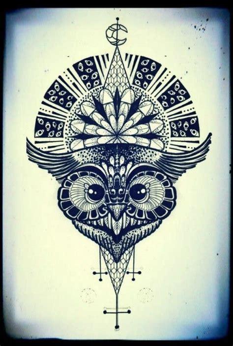 2017 trend geometric tattoo celtic owl check more at owl tattoo geometric tats pinterest inspiration