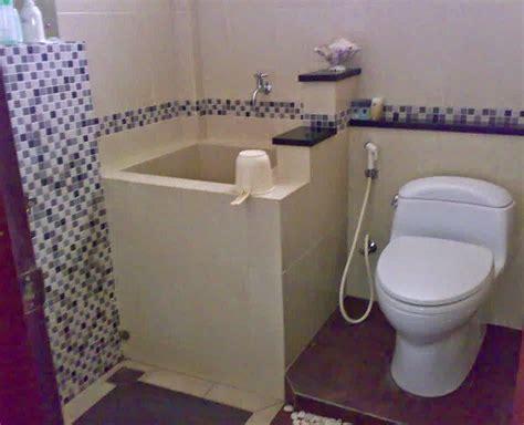 desain kamar mandi 2x2 desain kamar mandi sederhana dengan bak mandi inovasi