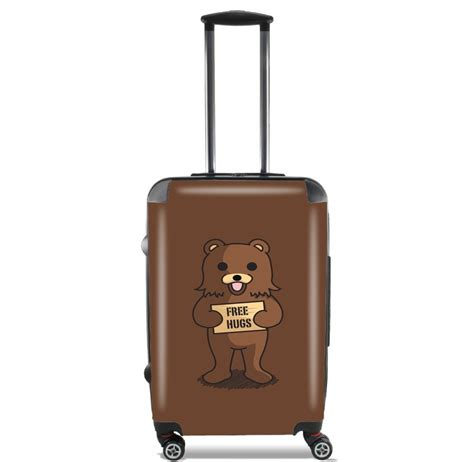 free hugs caign valise bagage cabine free hugs