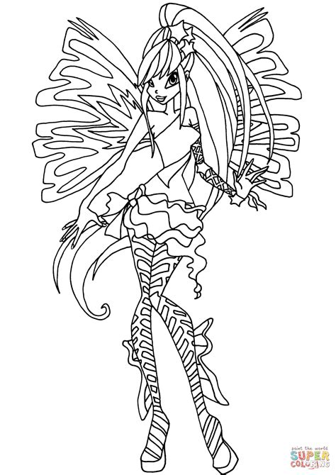87 stella winx club coloring pages winx club coloring