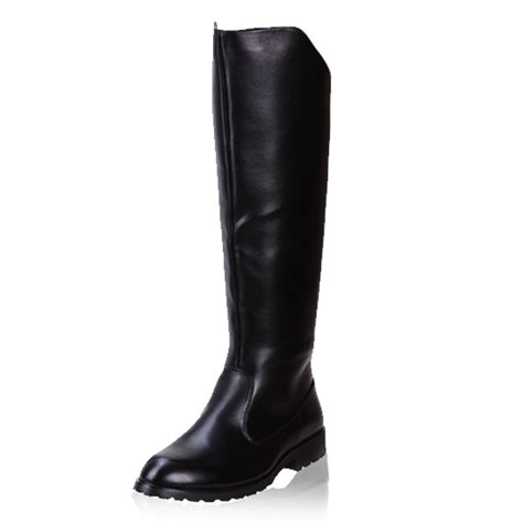 plus size 37 45 winter boots 2015 new knee high black
