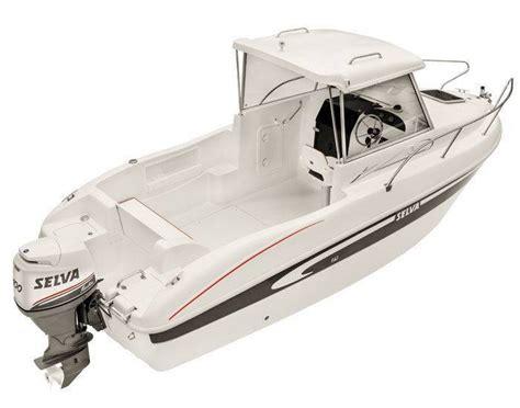 barche con cabina barche a motore selva f 6 1 cabin
