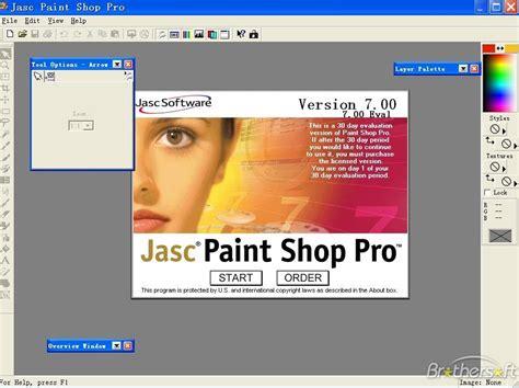 free paint shop pro paint shop pro 7