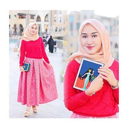 Coat Mocca Pakaian Muslimah Modis Fashion Muslim padu padan rok warna pink penelusuran baju muslim pink and search
