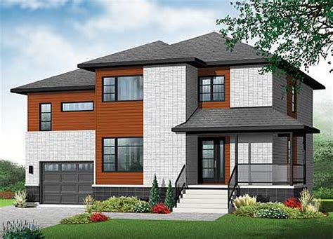 Modern Split Level House Plans by Architectural Designs