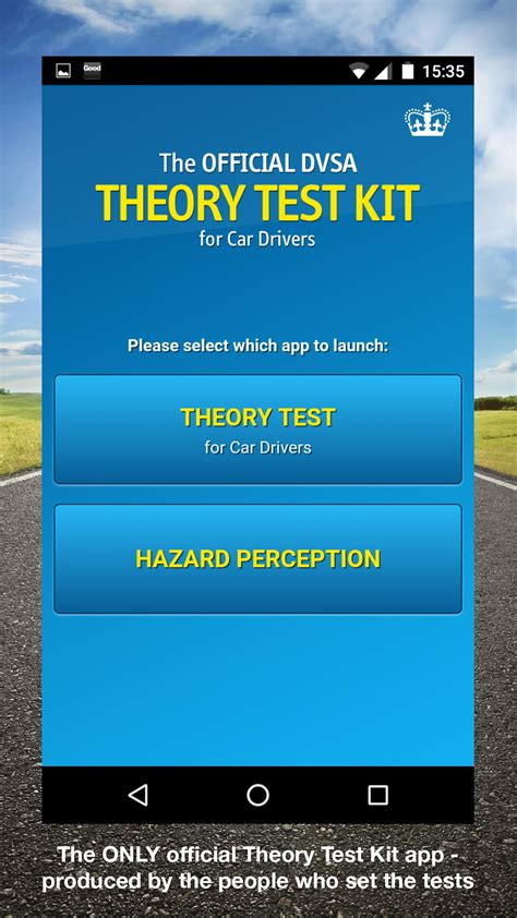 official dvsa theory test kit amazoncouk appstore
