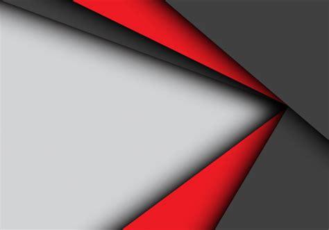 solapa roja de la flecha negra en fondo gris descargar