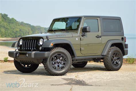 jeep willys 2015 2015 jeep wrangler willys wheeler review web2carz