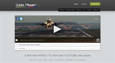 download youtube html5 video player best html5 video players and tools for developers code geekz
