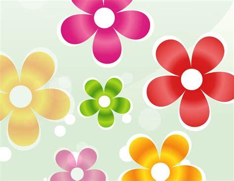bunte blumen colorful flower vector graphic free vector graphics