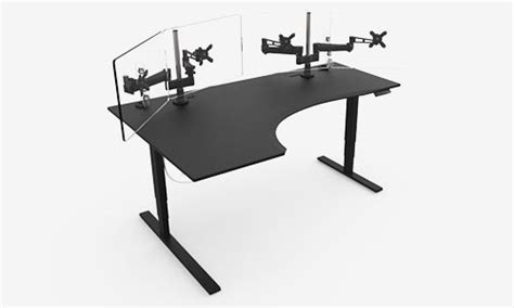 studio desk l gaming desk evodesk