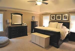 Black And Beige Bedroom Master Bedroom With Black And Tan Color Palette Espresso