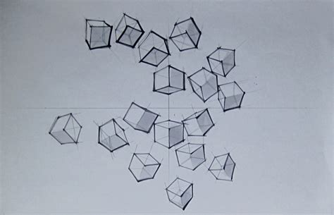 doodle cubes meaning perspective and field of vision methodology of visualization