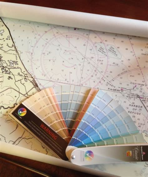 which comes wallpaper or paint nautical chart wallpaper