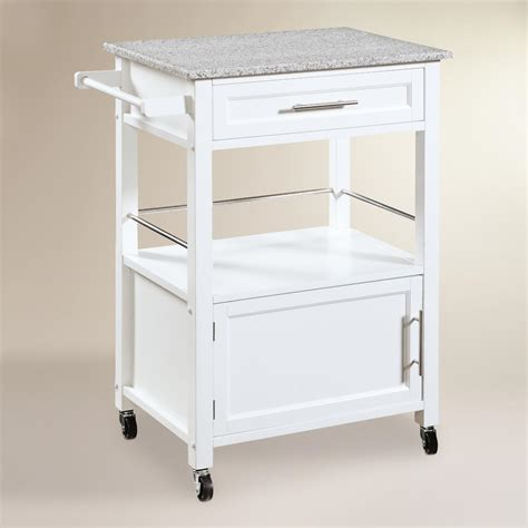 Kitchen Cart by Granite Top Ade Kitchen Cart World Market