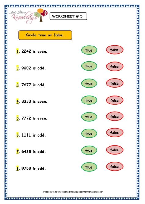 Even And Numbers Worksheets Grade 2 by Grade 3 Maths Worksheets 4 Digit Numbers 1 10 Even And