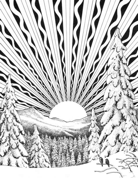 Winter Solstice Coloring Pages Winter Solstice Activities And Traditions For And