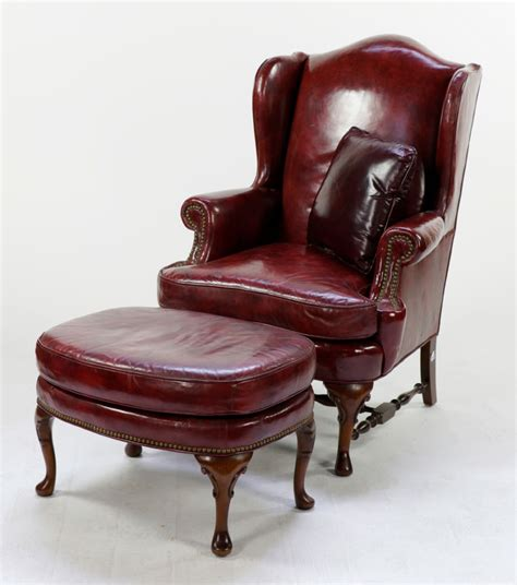 wingback chair with ottoman creative home
