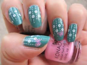 erica s nails and more notd daphne stamping nail art