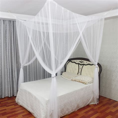 4 post poster bed canopy four corner mosquito insect bug