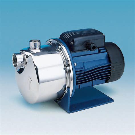 Pressure Boosting Shower Head by Lowara Bgm 11 A Self Priming Pump