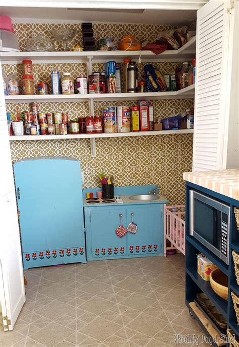 Play Kitchen Pantry by Custom Diy Rolling Kitchen Island Reality Daydream