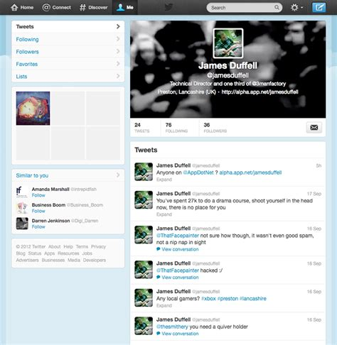 twitter different layout the new twitter profile what you need to know 3manfactory