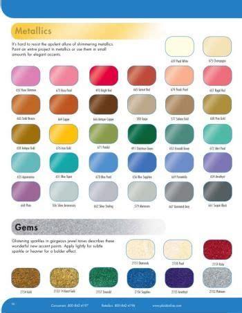folk colors folk metallic paint colors chart artsy fartsy