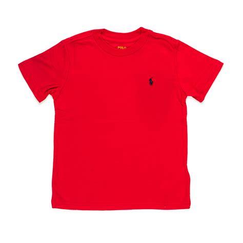 Rl Shirt ralph t shirt rl rossa annameglio shop