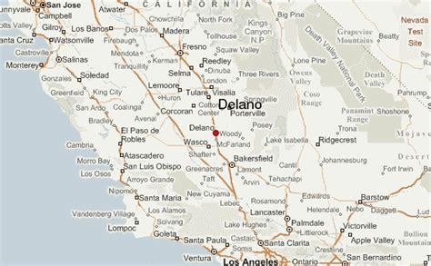 delano california map guide urbain de delano