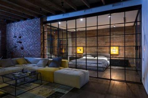 industrie lofts attraktive industrie loft schlafzimmer wohnideen einrichten