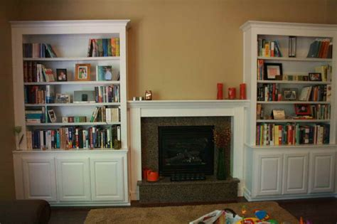 built in bookcase ideas cabinets shelving diy built in bookcase wall to wall